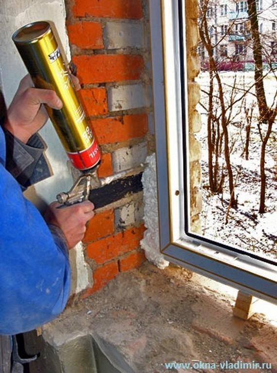 Пластиковые окна установить своими руками